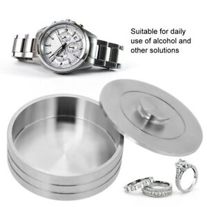 Stainless-Steel-Benzine-Cup-Container-Box-for-Cleaning-Watch-Movement-Parts-Tool