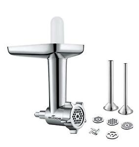 THE BEST*** STAINLESS STEEL Meat Grinder Food Chopper for Kitchenaid Stand Mixer