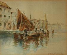 Franz HOFFELNER (1875-1936) Murano bei Venedig