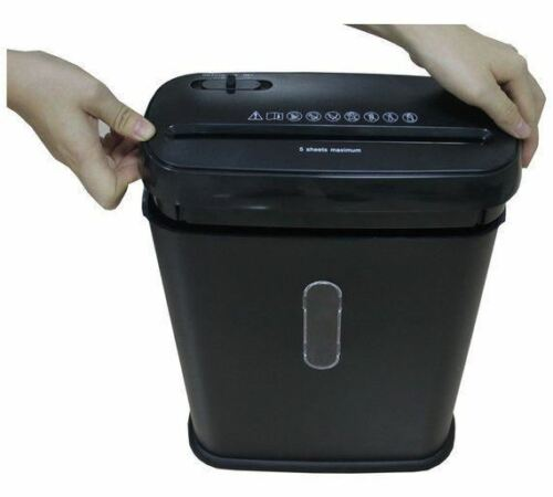 Paper Shredder 10 Litre Strip Cut A4 Auto on Reverse Function 2 sheets