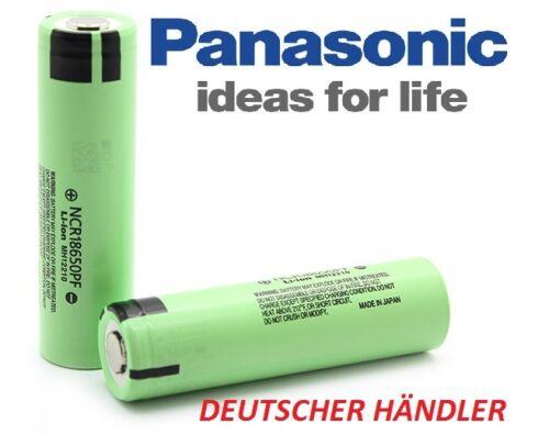 NCR18650PD 3,6V-3,7V 2900mAh Li-Ion 10A Entladestrom Panasonic NCR18650PF