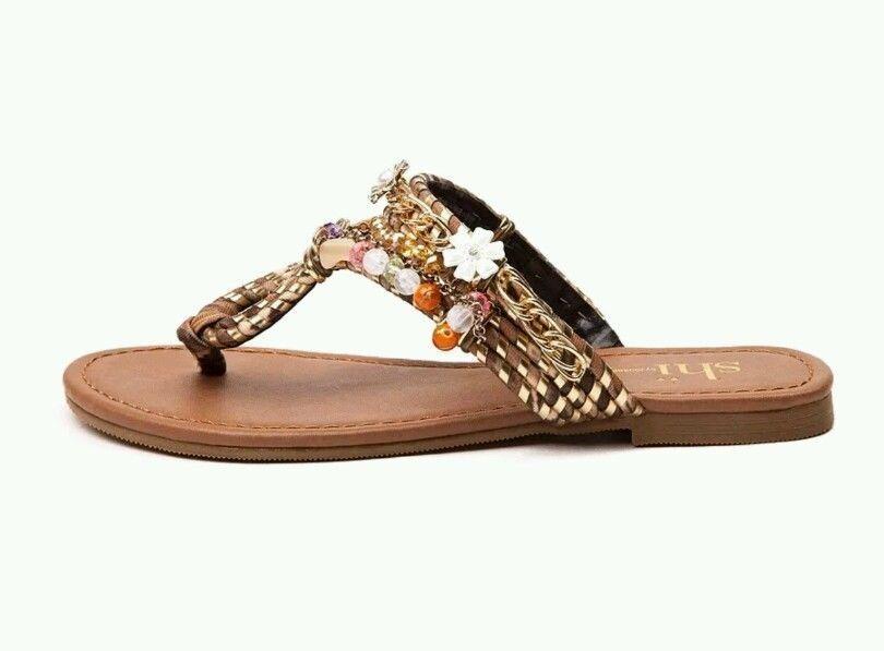 New Shi by Journey Womens Beachside Sandles Style 00971050 Tan W143 lr