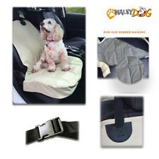 Walky Dog Seat Covers for Cars, Trucks and SUVs Front Seat Tan