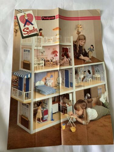 Original Vintage 70s Sindy Advertising Poster A3 Size    F