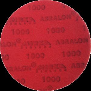 "Mirka 8A-203-1000 Abralon 3/"" Foam Sponge Backed Vel Wet//Dry Discs P1000 15pc//Bx"