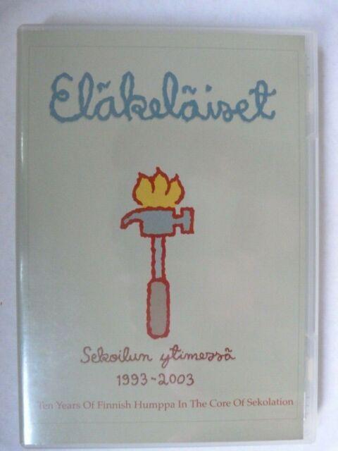 DVD Eläkeläiset Sekoilun ytimessä 1993 -2003 Finnland