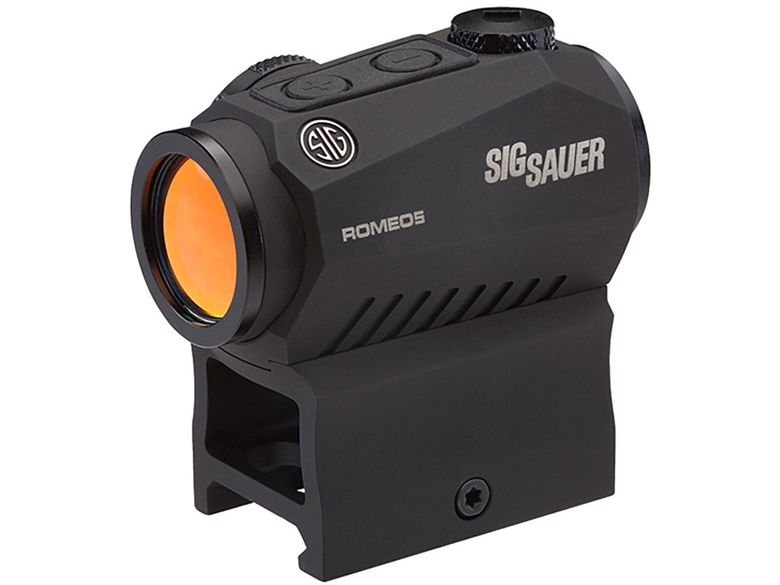 SIG Sauer ROMEO5 rot Dot Sight Rifle Scope 2 MOA Dot Retticle SOR52001
