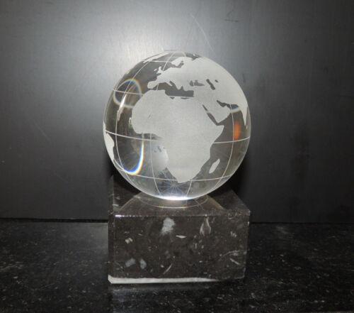 Vatertag Pokal Ehrenpreis XL Award  Weltpokal Kristall mit Gravur