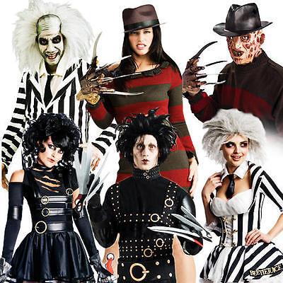 1980s Halloween Movie Adults Fancy Dress 80s Horror Film Mens Ladies Costume New