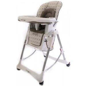 New-Love-N-Care-Techno-High-Chair-Infant-Baby-Children-Kids-Hi-Lo-Chair-Brindle