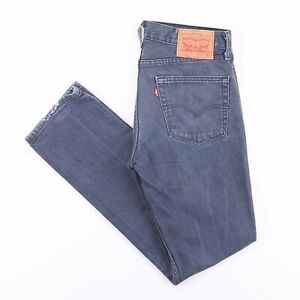 Vintage Levi's 511 Slim Straight Fit Men's Blue Jeans W31 L32