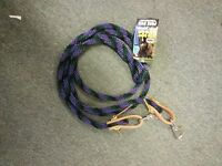 Weaver Rein Poly Braided Roping Barrel Reins Purple Green Black 8 Ft Horse Tack