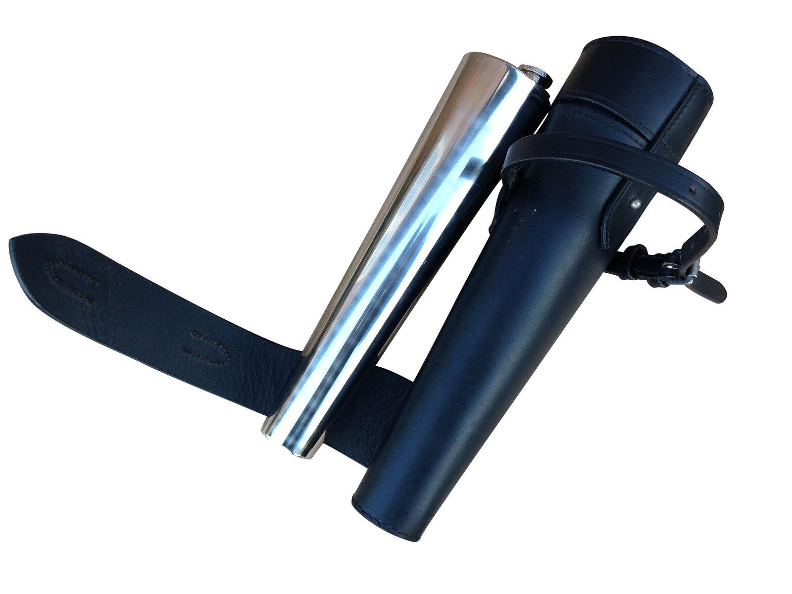Briglia Pelle Equitazione Sella Bevande Flask capacità 400ml-SPEDIZIONE GRATUITA GRATUITA GRATUITA 0c1593