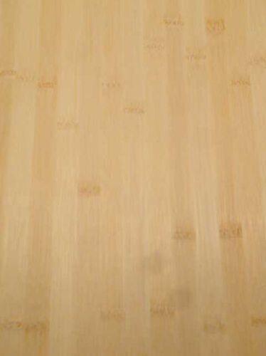 Bambus Furnier Holz Bamboo Bambou natur hell H 250x43cm