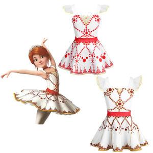 c9510c703 Ballerina Toddler Girl Dress Ballet Leotard Dance Tutu Skirt ...