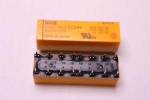 Relais Nr689 SDS DS4E-ML2-DC24V 4 Wechsler bipolar 2Spulen