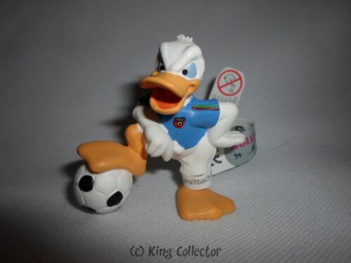 Bullyland Disney Figurine Donald Maillot Bleu Football