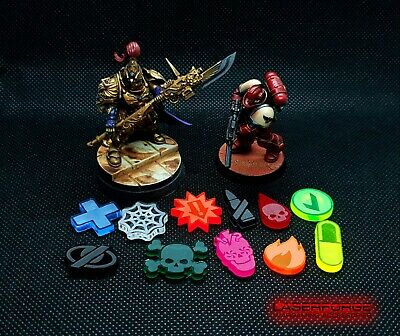 - MALIFAUX M3E 10 Pack Wound Dials // Trackers LASERFORGE