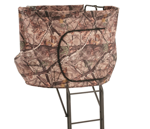 Guide Gear 20' 2-man Double Rail Ladder Tree Stand with Hunt