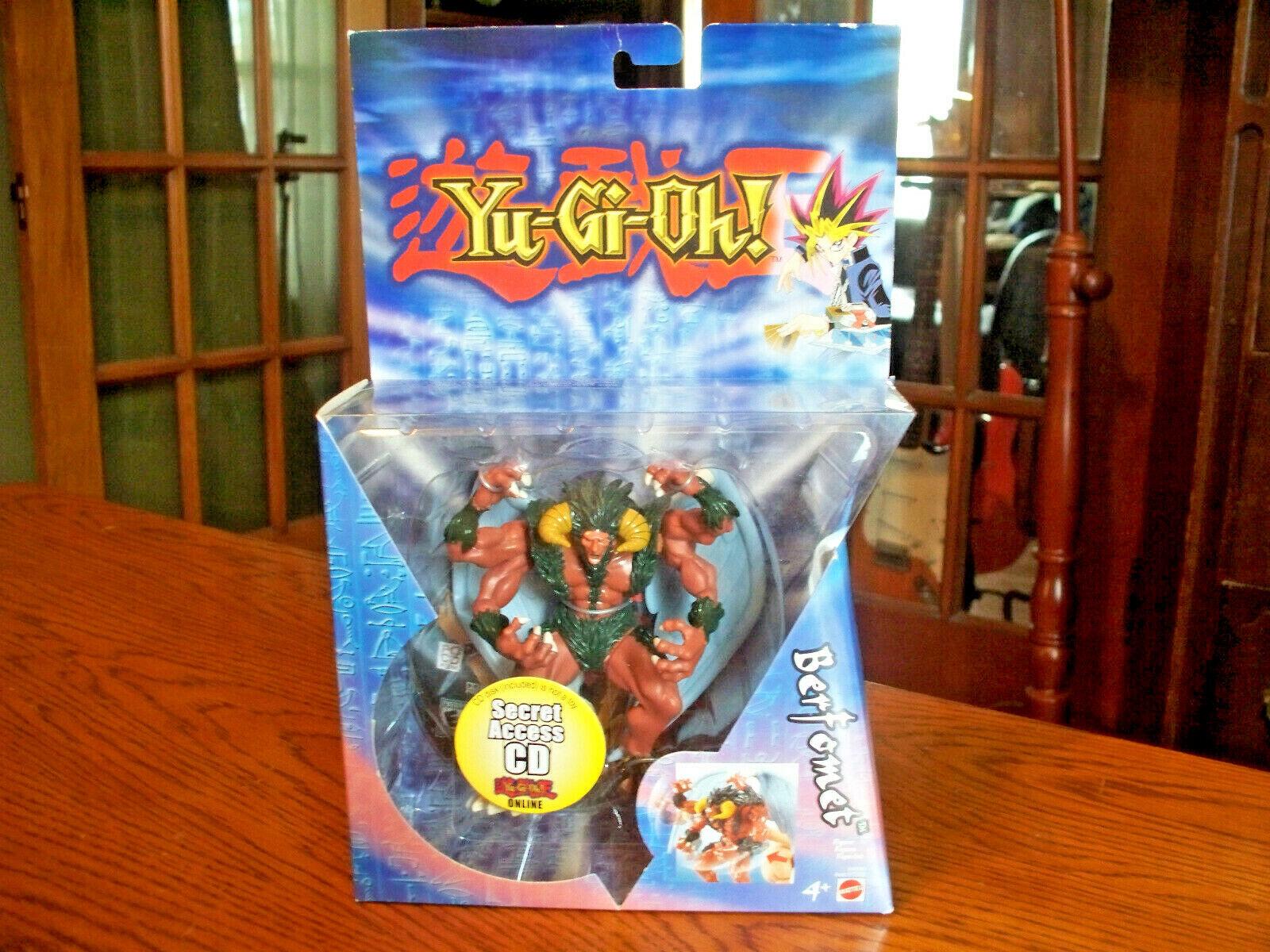 Yu-Gi-Oh  2004 Mattel Berfomet 6  Inch Action Figure Sealed New NIB NRFB