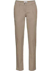 stretch pantaloni borchie stretch Con 36 lavoro pantaloni Pantaloni beige da nuovi Gr RWqOnqUa