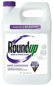 Roundup Weed and Grass Killer Super Concentrate, 1-Gallon ...