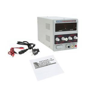 Labornetzgeraet-Labornetzteil-Netzgeraet-Trafo-Regelbar-DC-Netzteil-0-30V-5A-NEU