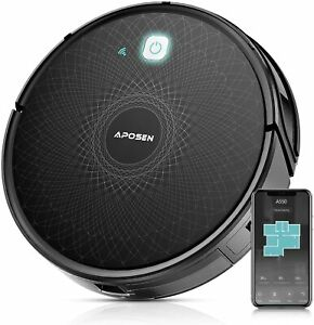 APOSEN Automatic Smart Robot Vacuum Cleaner/Super Slim w/ App Alexa &Google A550