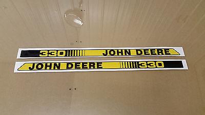 John Deere Diesel Decal 330,332,430 Lawn Tractor