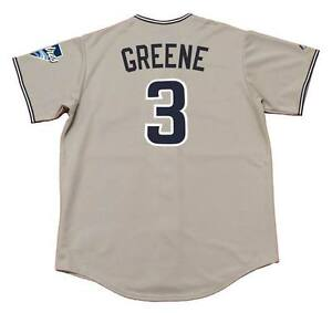 new concept 33fbc 49a18 Details about KHALIL GREENE San Diego Padres 2004 Majestic Throwback Away  Baseball Jersey
