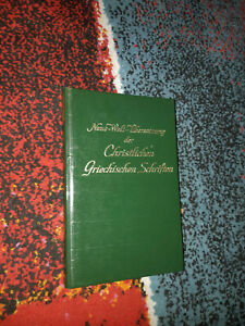 Neue Welt Übersetzung NT 1963 Bibelforscher Zeugen Jehovas - Lindau, Deutschland - Neue Welt Übersetzung NT 1963 Bibelforscher Zeugen Jehovas - Lindau, Deutschland