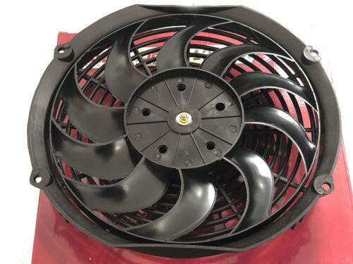 "12/"" Aeroline® 120w Electric Engine Radiator Intercooler 12v Slimline Cooling Fan"