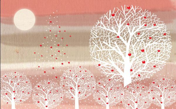 3D Schöne Bäume 287 Fototapeten Wandbild Fototapete BildTapete Familie DE