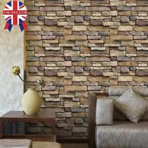 3D-Brick-Stone-PVC-Self-Adhesive-Wall-Sticker-Panel-Wallpaper-Living-Room-Decor