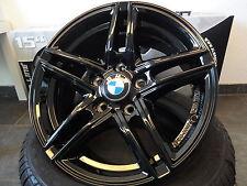 4X BORBET XR 7X16 ET31 SCHWARZ BLACK GLOSSY 3er BMW E46 E36