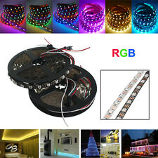 5M WS2812 IC SMD5050 300 LED RGB Strip Light Lamp Waterproof Dream Color Individ