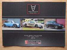 Wolfrace RUOTE IN LEGA COLLEZIONE 2013 UK inchiostri SALES BROCHURE-ATS BREYTON ETC