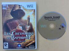 Jeu WII Les CHEVALIERS DE BAPHOMET The Director's Cut pour console NINTENDO WII