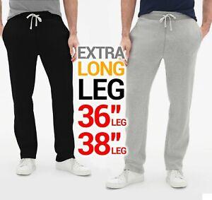 hacha Poesía Rey Lear  Extra Larga de Lana Pantalones Pantalones De Chándal Pantalones Jogging UFC  MMA Gimnasio Correr Hombres | eBay