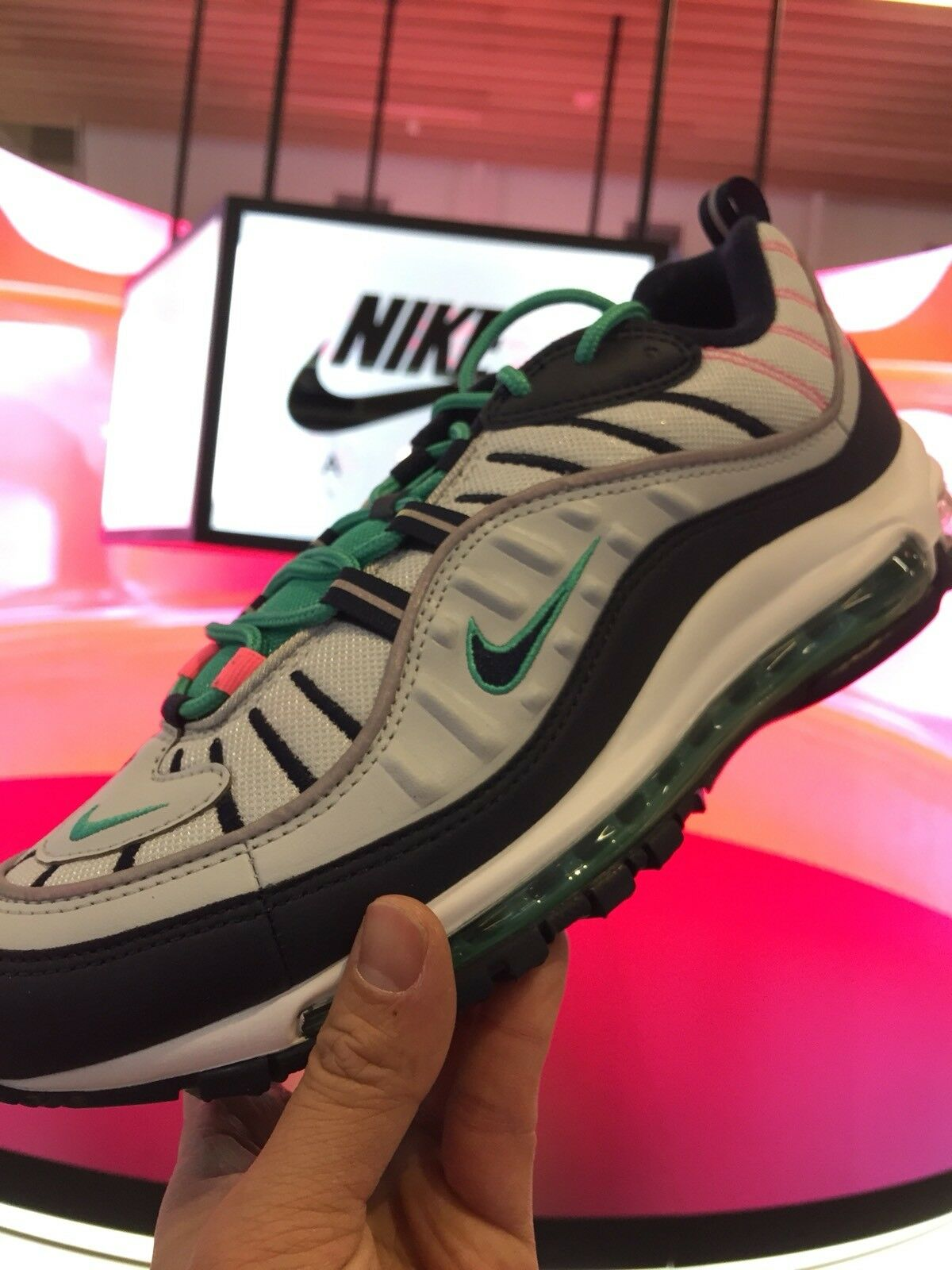 58c2100c15 Nike Air Max 98 South Beach Size 9.5 640744-005 nqkzvy57-new shoes ...