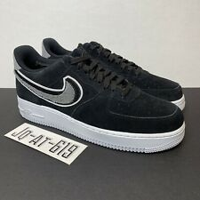 "best loved c7f09 a2dcd item 2 Nike Air Force 1  07 LV8 ""Chenille Swoosh"" Size 10 Black White-Grey  823511-014 -Nike Air Force 1  07 LV8 ""Chenille Swoosh"" Size 10 Black White- Grey ..."