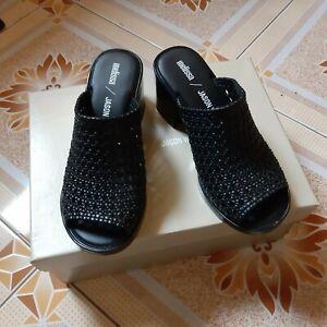melissa shoes mule ii jason wu camilla black size 5