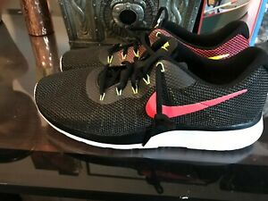 Nike-Tanjun-Racer-Men-s-Running-Shoes-Black-Solar-Red-921669-010-SIZE-11