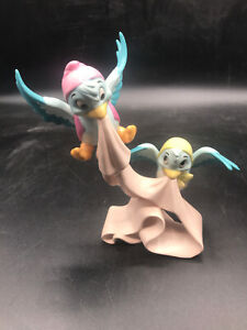 RARE WDCC Cinderella Birds with Sash We'll tie around it Figurine W/Box COA