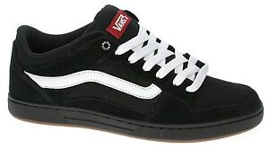 3ae6a8d425 VANS BAXTER Mens Shoes (NEW) Sizes 7-13 BLACK WHITE GUM Skate ...