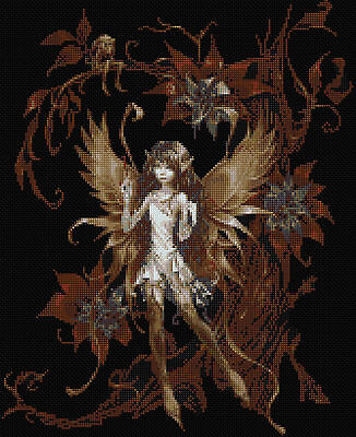 Forest Fairy  Counted Cross Stitch Kit Fairies/Fantasy Free P&P