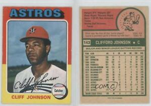 Details About 1975 O Pee Chee 143 Cliff Johnson Houston Astros Rc Rookie Baseball Card
