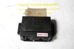 kawasaki zx6r 2002 bike breaking fuse box junction box bike rh ebay com