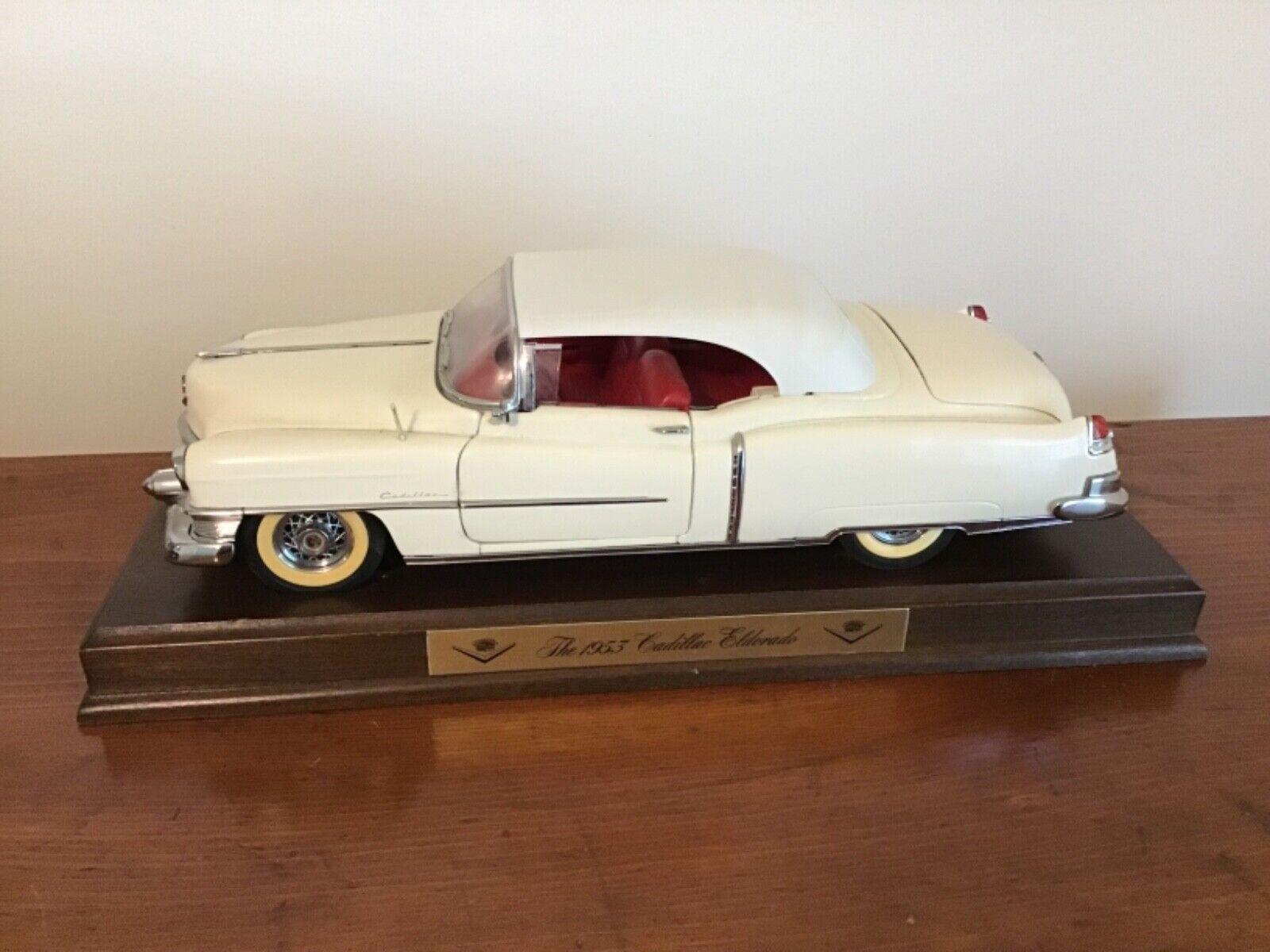 Blanc Vintage 1953 Danbury Comme neuf Cadillac elderado Voiture Modèle   des prix moins chers