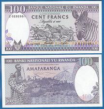 Rwanda 5000 Francs P 22a 1988 UNC Low Shipping P 22 a Combine FREE!